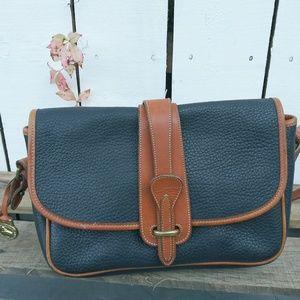 Vintage Dooney & Bourke Equestrian Crossbody Bag